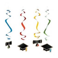 Hanging swirls graduate