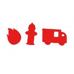 Brandweerconfetti