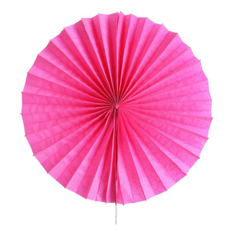 Fan hot pink