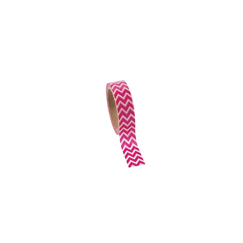 Washi tape hot pink chevron