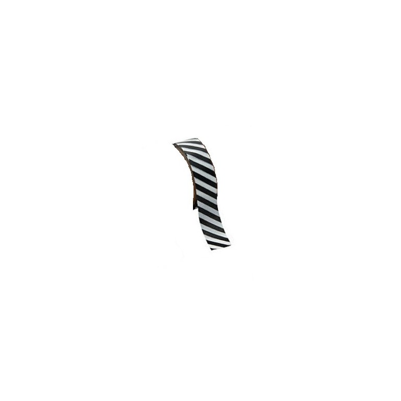 Washi tape zwart gestreept