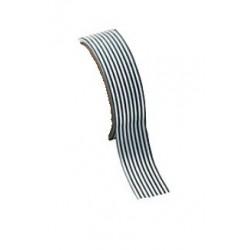 Washi tape zwart lange streepjes