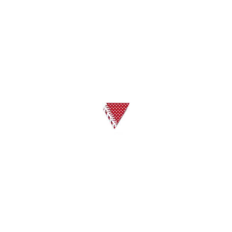 Vlaggenslinger rood