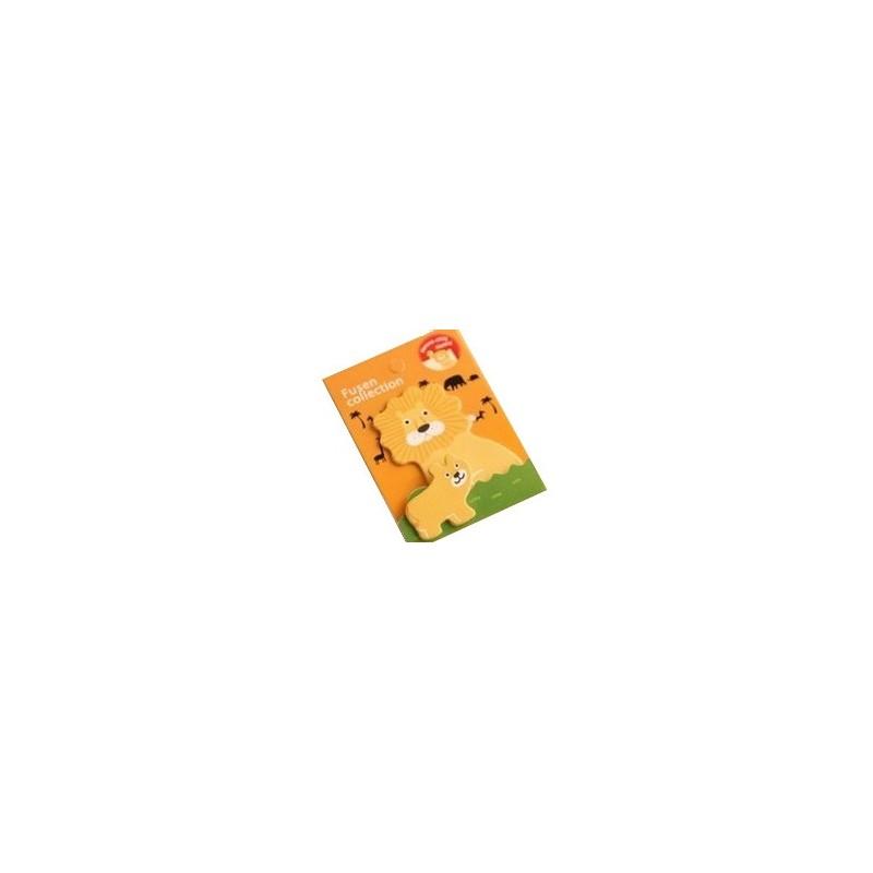 Sticky notes lion