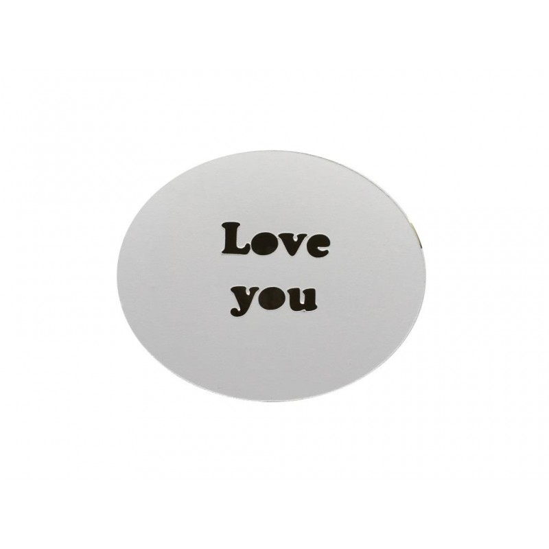 Cappuccino template - Love you