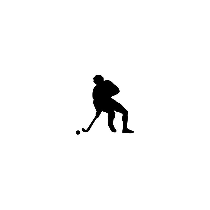 Planstickers hockey men