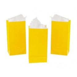 Treat bags yellow
