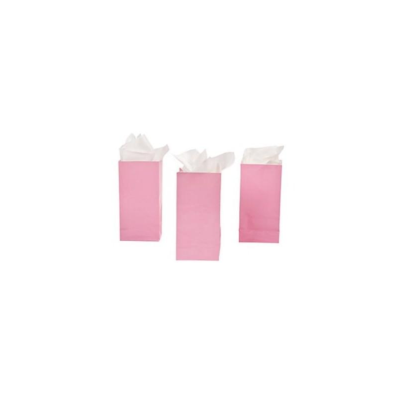 Uitdeelzakjes roze