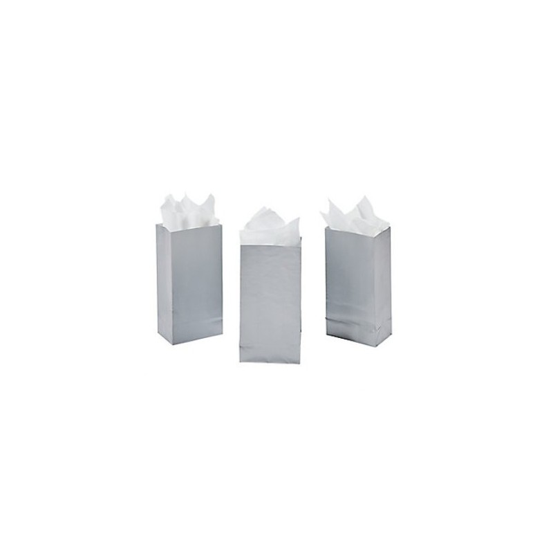 Treat bags silver