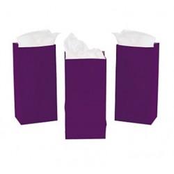 Treat bags purple