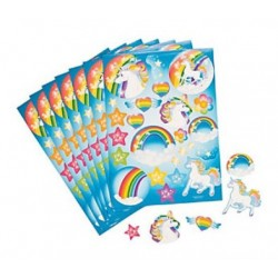 Unicorn stickervel