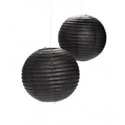 Paper lantern black