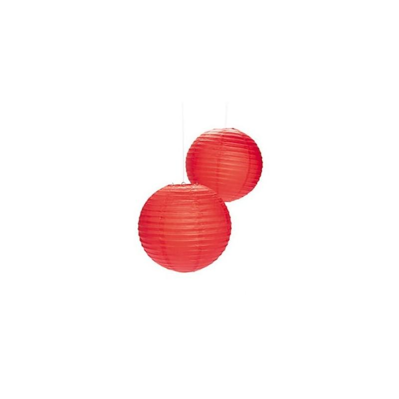 Paper lantern red