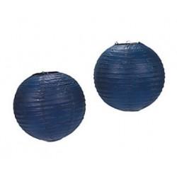 Paper lantern navy blue