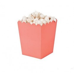 Kleine popcorn bakjes living coral