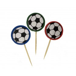 Cupcake toppers soccer