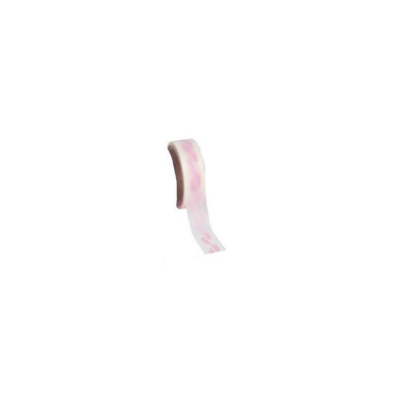 Washi tape lichtroze voetjes