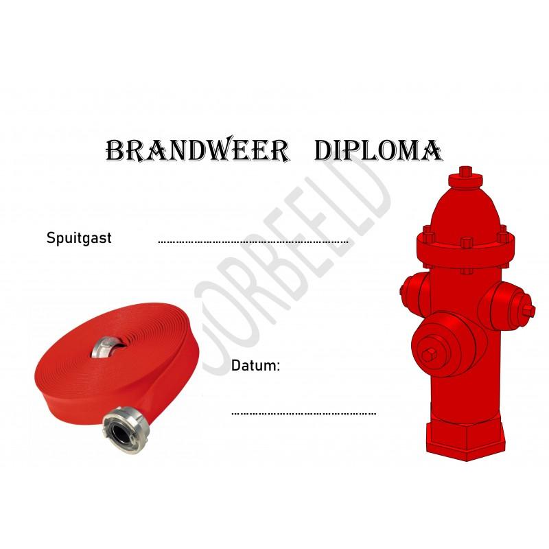 Brandweer diploma