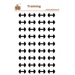 Planstickers training