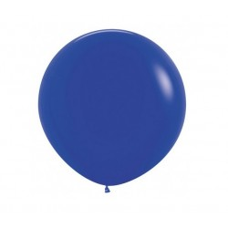 90 cm grote blauwe ballon