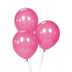 Balloons hot pink