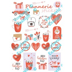 Stickertjes Valentijn