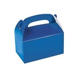 Traktatie doos blauw