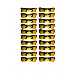 Ninjago eyelets for popcorn...