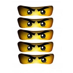 Ninjago oogjes voor op...