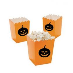 Kleine popcorn bakjes...