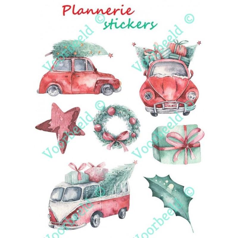 Cars Christmas A5