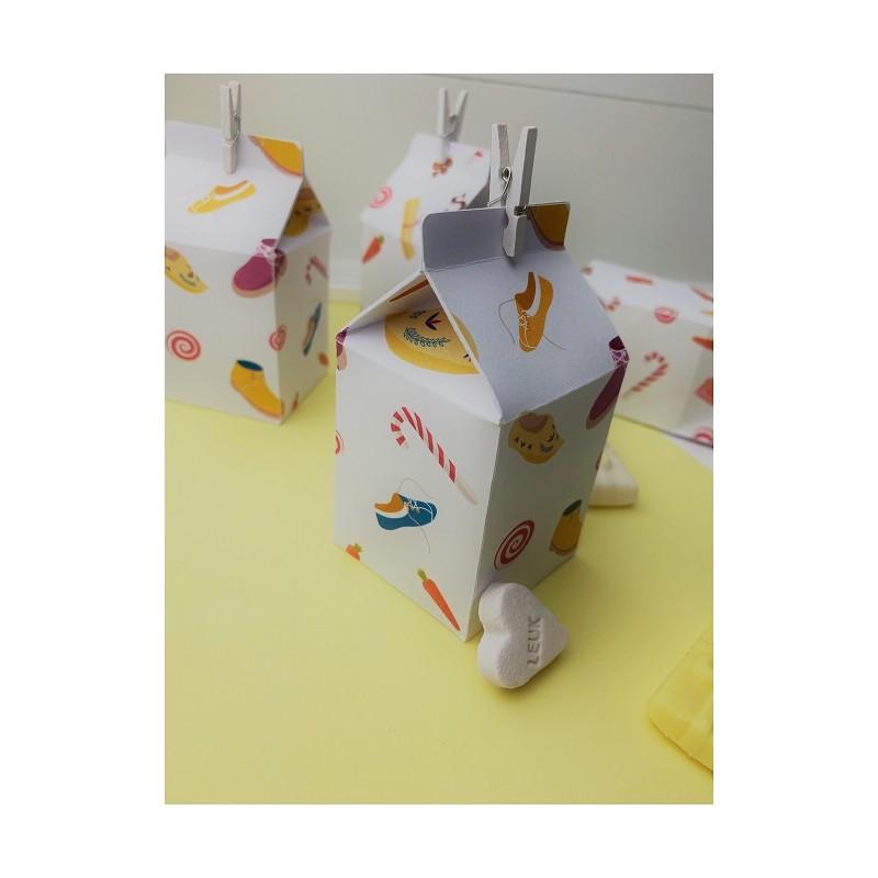 Milk carton Sinterklaas @joyenco.nl