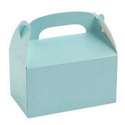 Traktatie doos lichtblauw @joyenco.nl