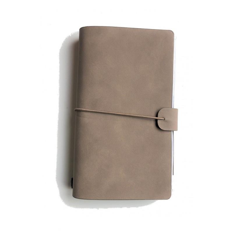 Traveler's notebook taupe @joyenco.nl