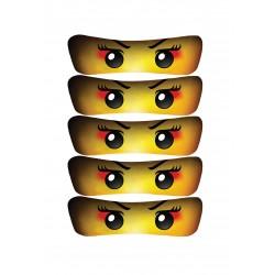 Ninjago girl eyelets for...