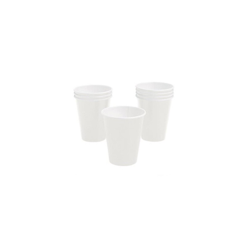 Paper cups white