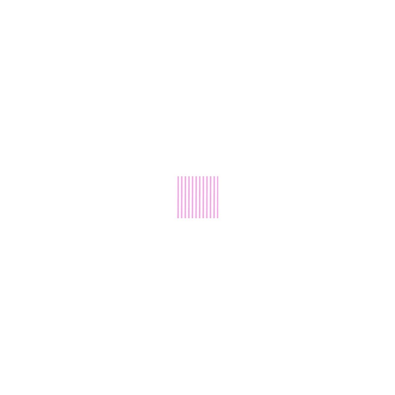 Servetten roze smal gestreept