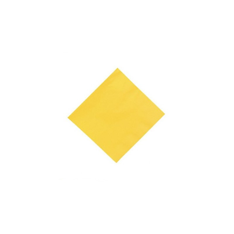 Napkins yellow