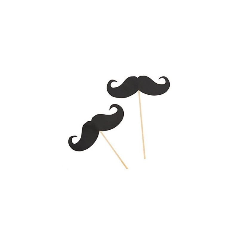 Cupcake toppers mustache