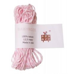 Bakkerstouw roze