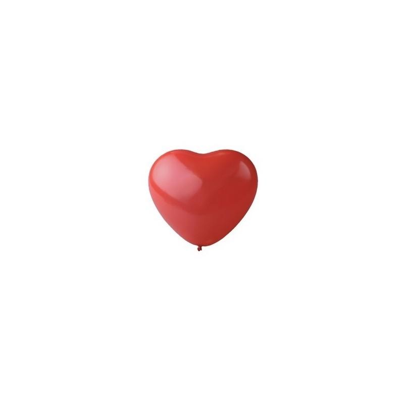 Rode hart ballonnen