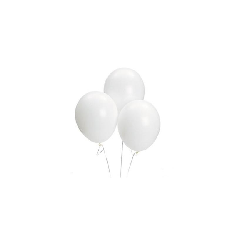 Balloons white
