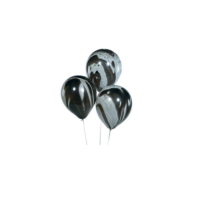 Balloons black marble