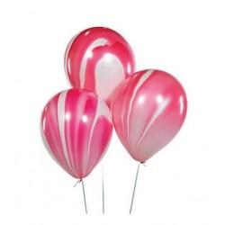 Ballonnen rood marmer