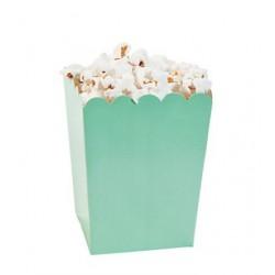 Kleine popcorn bakjes mint