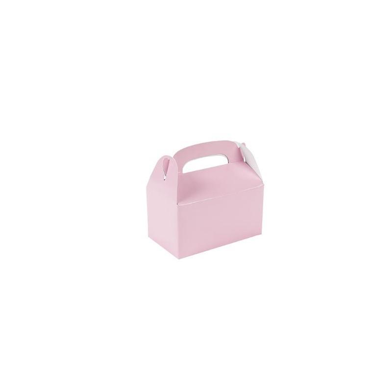 Kleine traktatie doosjes roze