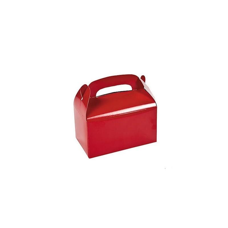 Traktatie doos rood
