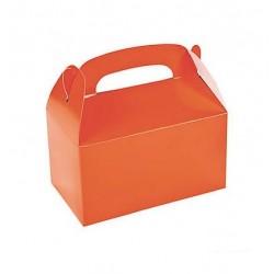 Traktatie doos oranje